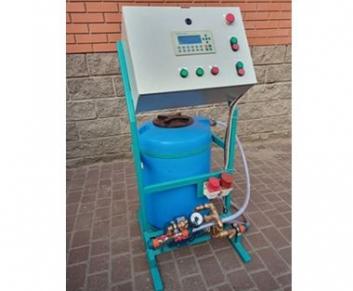 Бетонозмішувач БЗМ 500 (з тензо-волого системами і авт. подачею води і пластифікаторами)