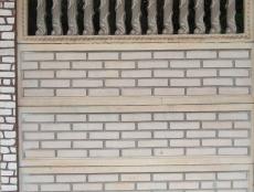 Євро бетонний паркан 12