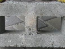 Блок со сквозными пустотами